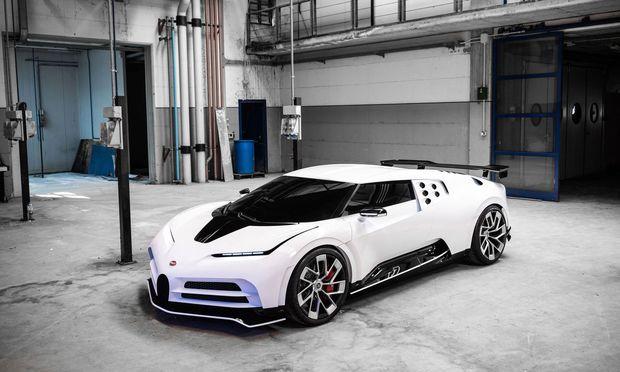 Bugatti Centodieci: 1600 PS starke Hommage an einen Vorgänger aus einer anderen Ära.