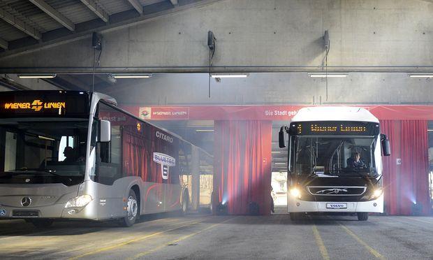 Wiens Busse Umstieg Mercedes