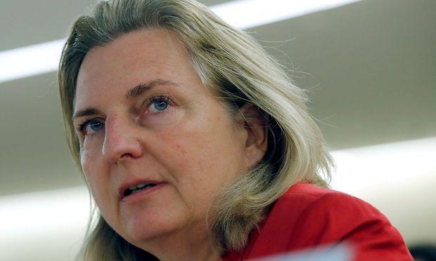 Archivbild: Außenministerin Karin Kneissl