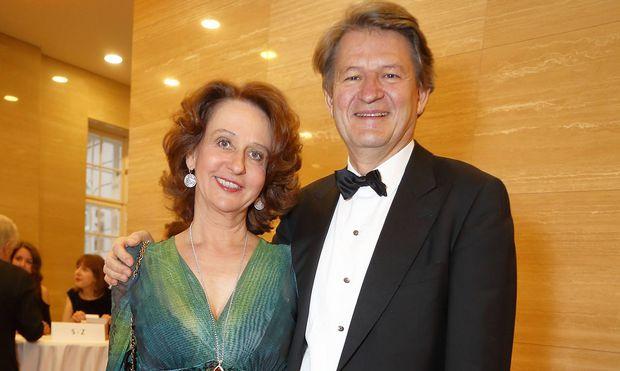 Ein Bild vom Mai 2019 von einem Fundraiser-Event der Albertina in Wien: Patricia Pawlicki mit ihrem Ehemann Helmut Brandstätter.