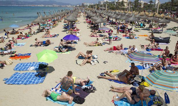 Mallorca ist  vor allem bei deutschen und britischen Touristen beliebt