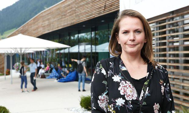 Sonja Jöchtl ist seit 2016 Geschäftsführerin der Stiftung Alpbach.