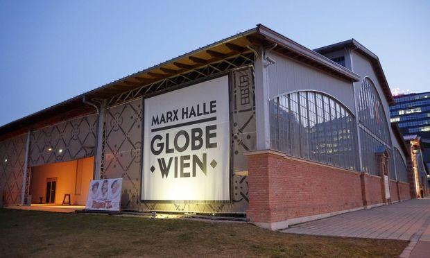 Auch das Globe Wien befindet sich im Marx Media Quartier.