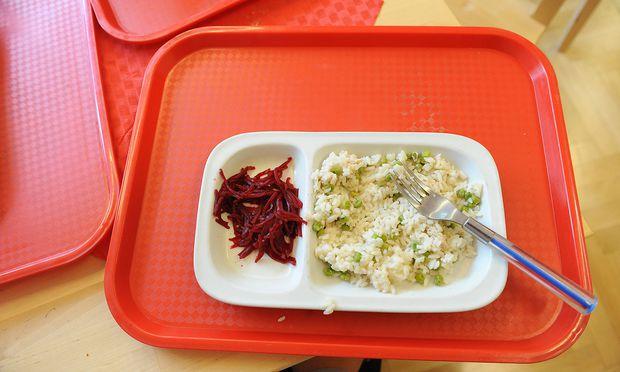 Symbolfoto: Essen in der Schule