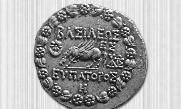 Antike griechische Münze