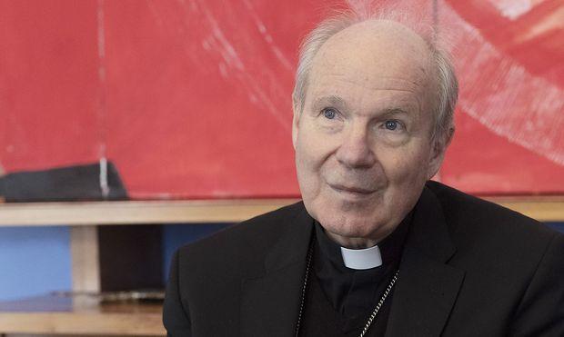 Kardinal Schoenborn, Portrait, Wien, Oesterreich, 2019