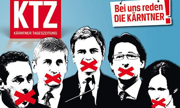 Kaerntner Tageszeitung Sonntag politikerfrei