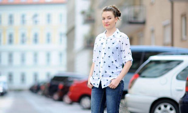Diana Radulovski kommt aus Bulgarien. Sie findet, man solle auch Bürgern aus Nicht-EU-Ländern eine Chance zum Gründen geben.