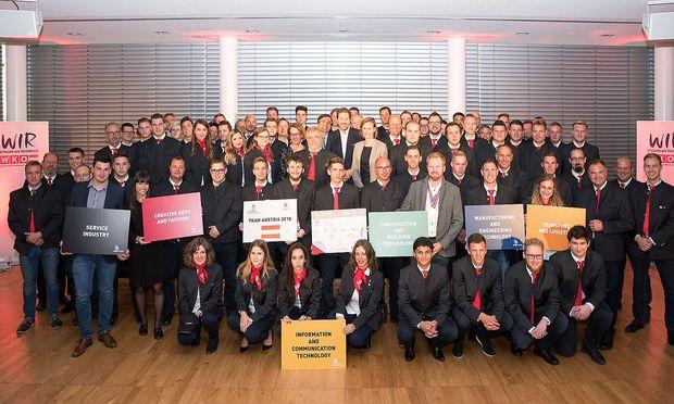 Das Team Austria.