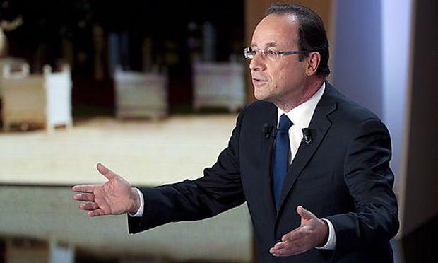 Präsidentschaftskandidat Hollande tritt für eine Anhebung des Spitzensteuersatzes ein