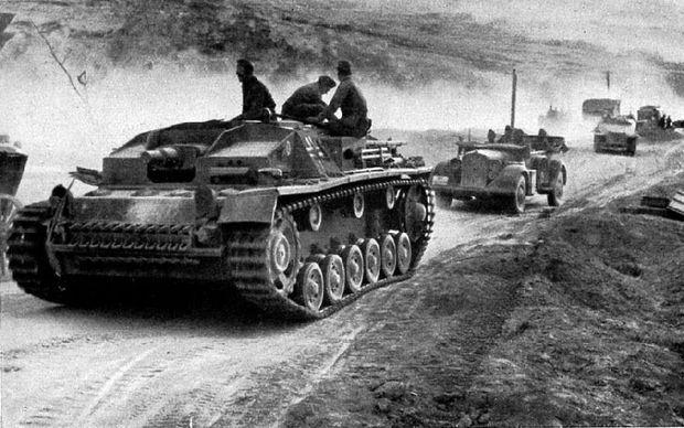 Sturmgeschütz III nahe Sewastopol