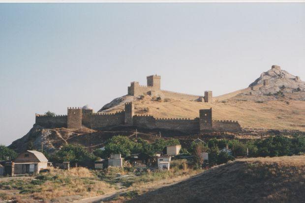 Genuesische Burgmauern von Kaffa