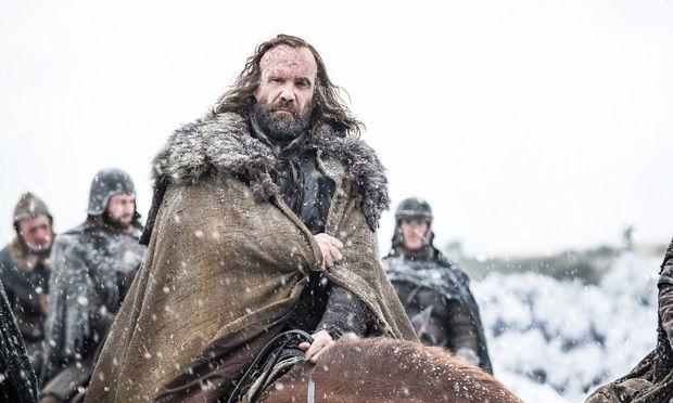 The Hound sieht Dinge im Feuer / Bild: (c) HBO