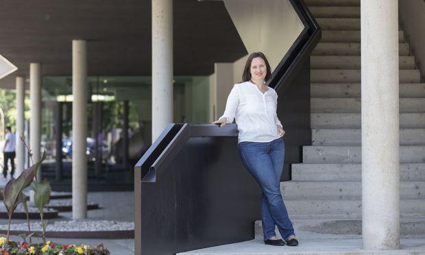 Die Leobnerin Nina Schalk kam von der Buchhaltung als Quereinsteigerin in die Werkstoffwissenschaft. Diese Entscheidung hat sie nie bereut.