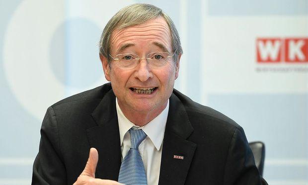 Wirtschaftskammer-Chef Christoph Leitl