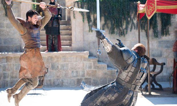 Oberyn und The Mountain im Duell / Bild: (c) HBO