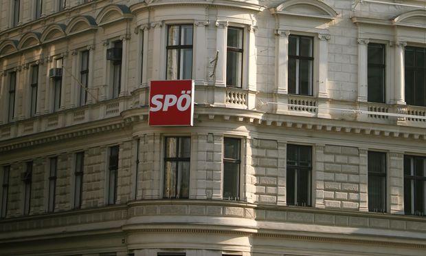 Blick auf die Zentrale der SPÖ in der Löwelstraße