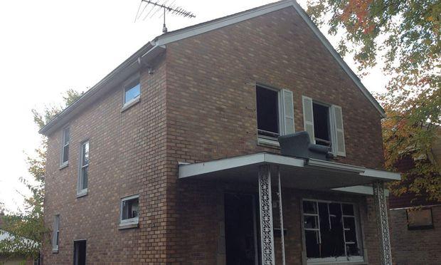 Obdachlose hinterließen das Haus in einem schlechten Zustand.