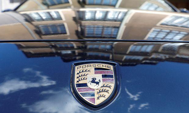 FILE PHOTO The Porsche logo is seen in Berlin