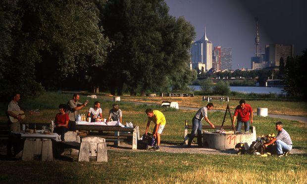 öffentliche Grillplätze In Wien Diepressecom
