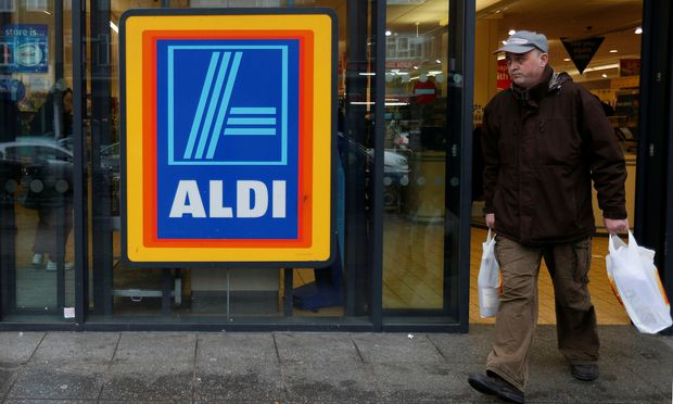 Aldi supermarket which has ordered a recall of two frozen prepared meals that had contained horse meat in tests in northwest London
