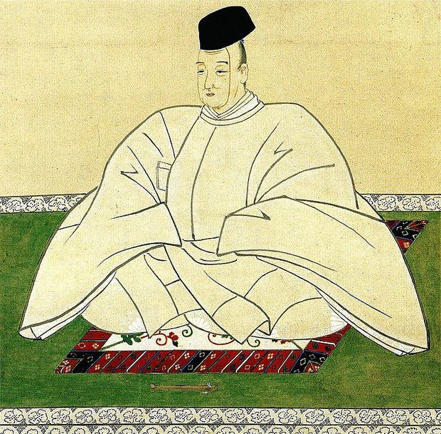 Kaiser Kokaku dankte 1817 ab