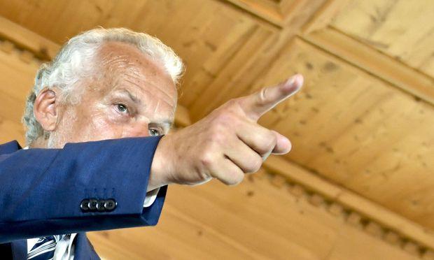 Justizminister Josef Moser bei einer am heurigen Forum Alpbach gegebenen