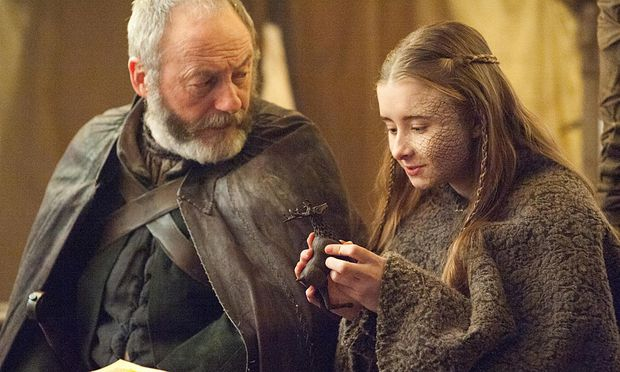 Davis Seaworth und Shireen Baratheon / Bild: (c) HBO