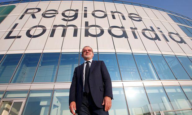 Roberto Maroni, Präsident der Region Lombardei, nutzt das Referendum, um vor den Parlamentswahlen im Frühjahr Stimmung für seine Lega Nord zu machen.   / Bild: (c) REUTERS