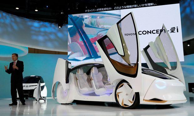 Fahren morgen, eher übermorgen: Drei i-Konzepte von Toyota bei der Tokioter Motorshow.