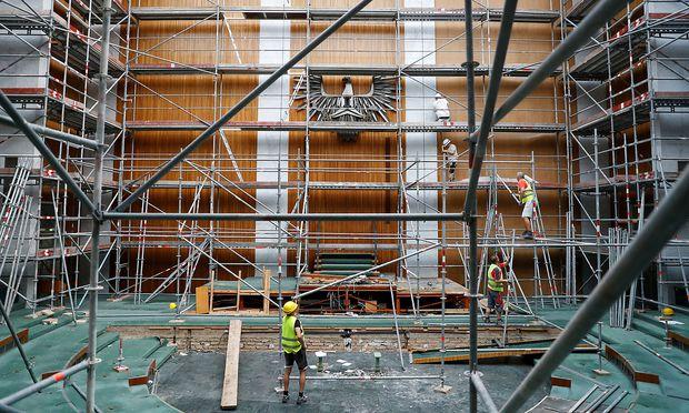 Die Baukosten sind massiv gestiegen. Das ist aber nicht das einzige Problem. (Archivbild aus dem vergangenen April).