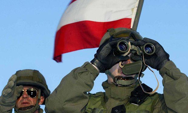 Archivbild: Österreichische Soldaten im Kosovo