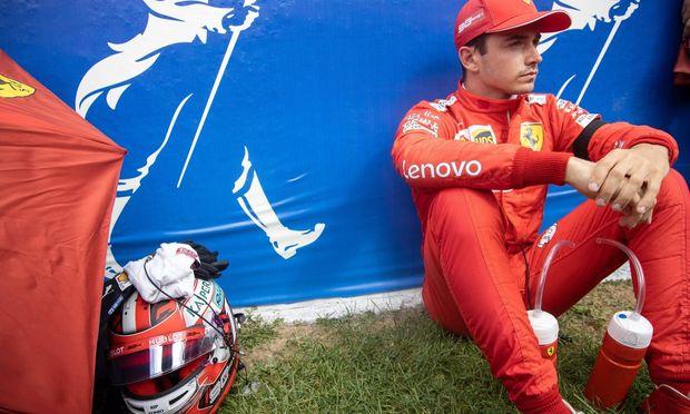 Spa 01 09 2019 GP F1 Belgique Dimanche Course Leclerc N°16 Ferrari FORMULE 1 Grand Prix de Belgiq