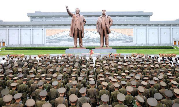 Soldaten in Nordkorea. / Bild: REUTERS