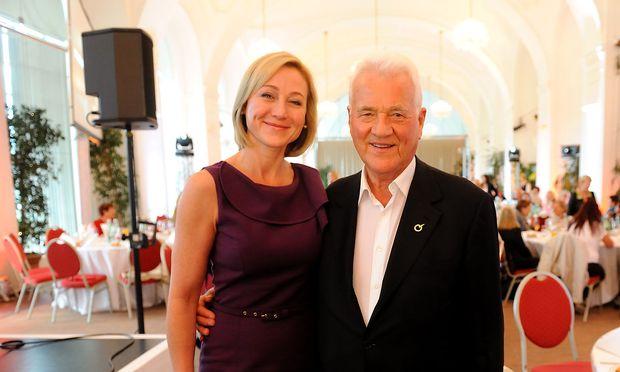 Ein Foto aus besseren Zeiten. Frank und Belinda Stronach im Jahr 2013 in Österreich.