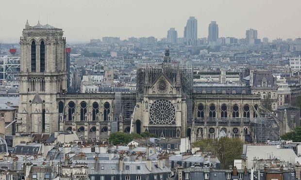Das Feuer in der Pariser Notre-Dame wütete mit bis zu 1000 Grad Celsius.