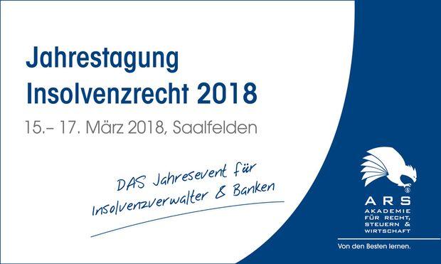 Bild: (c) ARS Insolvenzrecht 2018