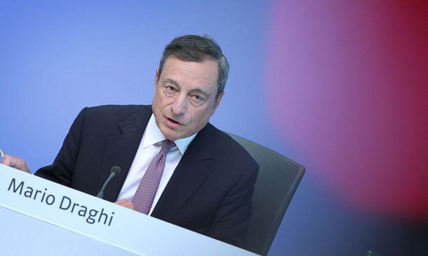 Noch steht nicht fest, wann die europäischen Währungshüter ihr Anleihekaufprogramm weiter reduzieren werden.   / Bild: (c) APA/AFP/DANIEL ROLAND
