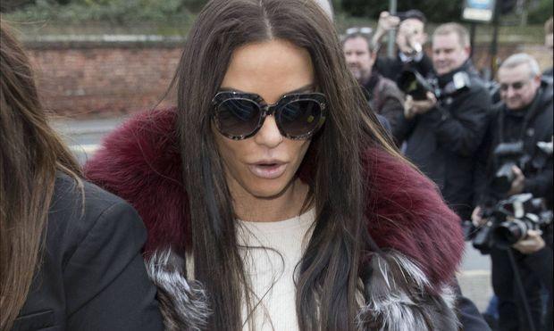 Das Ex-Model muss im Februar erneut vor Gericht erscheinen.