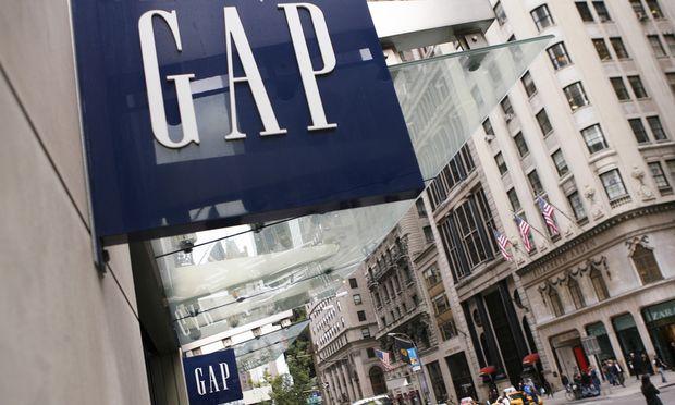 US-Modefirma Gap druckt