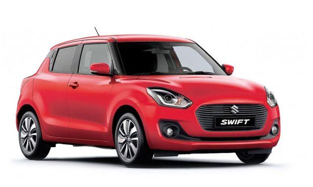 Der Hauptpreis: Suzuki Swift 1.2 Dualjet shine / Bild: Suzuki