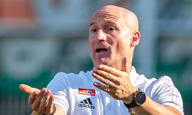 Trainer Goran Djuricin. / Bild: (c) APA/EXPA/JFK