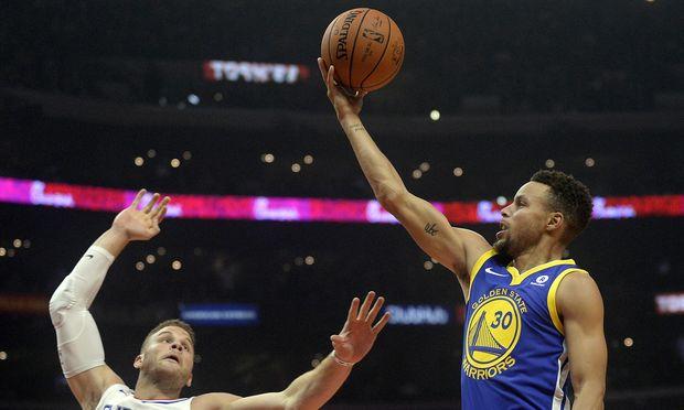 NBA: Golden State Warriors gegen Los Angeles Clippers