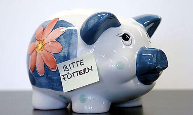 Sparschwein, Sparen, Geld, Reichtum, Finanz, Sparb�chse, Vorsorge Foto: Clemens Fabry