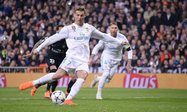 Cristiano Ronaldo beim Elfmeterschuss