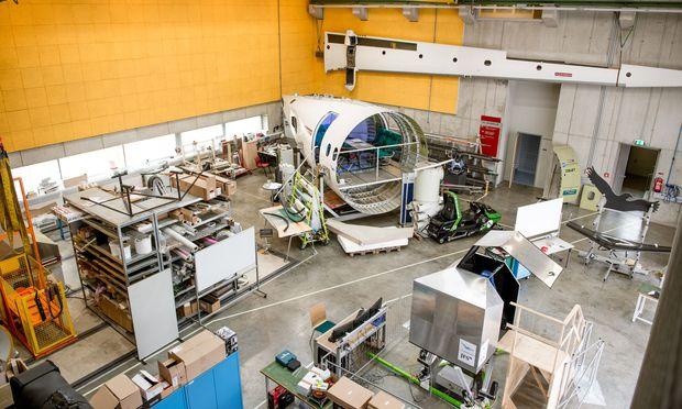 Die Komponenten eines Flugzeugs werden in den einschlägigen FH-Studien praxisnah präsentiert. / Bild: Stefan Leitner/FH Joanneum
