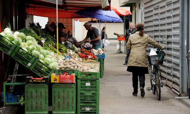 Diskussion um Gastronomie auf Wiener Märkten..