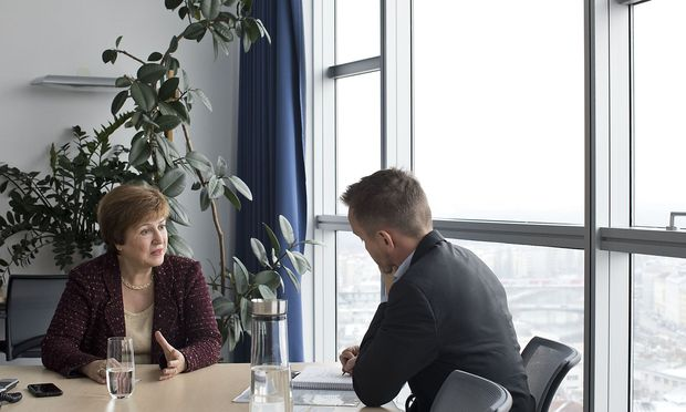 Weltbank-CEO Kristalina Georgiewa nahm am Afrika-Forum in Wien teil. / Bild: Michele Pauty