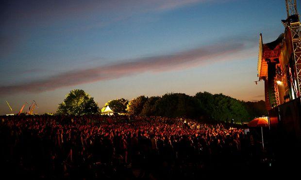Symbolbild: Das Donauinselfest am Freitagabend