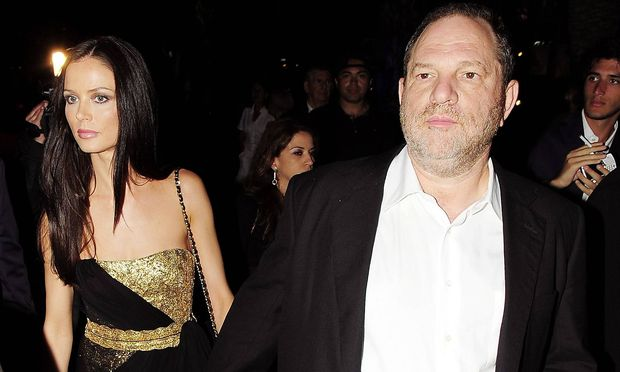 Georgina Chapman und Harvey Weinstein (Archivbild)